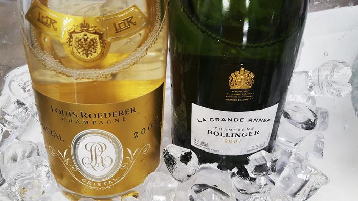 Champagne Louis Roedererin arvostettu ja palkittu lippulaivasamppanja Cristal Brut on yksi kaikkien aikojen ikonisimmista samppanjoista. Oma lempijuomani on taas La Grande Année, jonka uusi vuosikerta 2007 on nyt saatavilla.