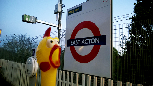 East-Acton