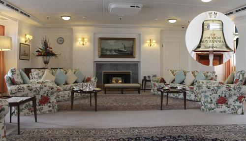 Kuningatar Elisabeth ja prinssi Philip päättivät HMY Britannian sisustuksesta pienintä yksityiskohtaa myöten. Alus palveli kuninkaallista perhettä yli 44 vuotta, ja nykyään museona toimiva jahti on kuin aikamatka 1950-luvun loistokkuuteen.