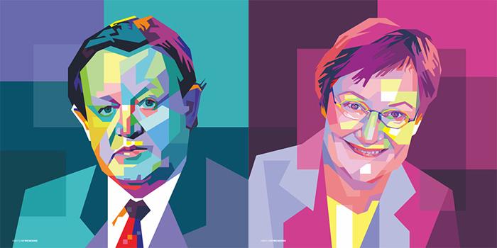 Presidentti Ahtisaari oli viimeinen presidentti, joka tarjoili vanhan maailman tyyliin kahvinsa pannusta itsenäisyyspäivän vastaanotolla. Nykyisin Ahtisaaren suosima pannu viettää eläkepäiviään koristeena Presidentinlinnan Peilisalissa. Presidentti Halonen aloitti kahvinjuonnin vasta 18-vuotiaana, mutta on tänä päivänä intohimoinen kahvinystävä. Halosella on tapana nauttia kahvinsa kantapöydässään Hakaniemen kauppahallin toisessa kerroksessa.